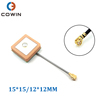 12*12mm 25*25mm 1575.42MHz Patch Active Internal Ceramic GPS Antenna