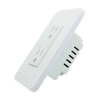 New hot sale 15 amp wifi smart home wall socket receptacle