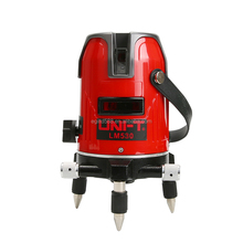 UNI-T LM530 Red Laser <strong>level</strong> 3 Lines 4 Points 360 Degree Self Nivel Laser Horizontal Vertical