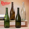 Hot sell competitive prices 750ml long neck clear glass wine bottle
