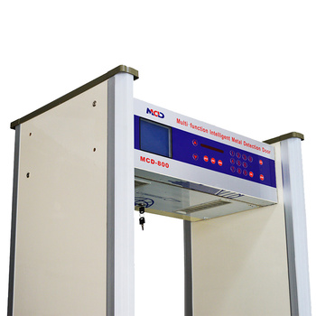 Bestselling Weapon and Metal WalkThrough Detector Gate for airport hotel MCD-800A