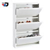 Manufacture 15 years golden supplier smart design home using ventilate family furniture use 3 layer shoe rack cabinet organizer