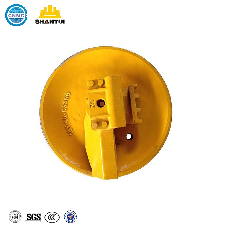 Bulldozer Undercarriage Spare <strong>Parts</strong> D60/sd16/d6t For Shantui/Cat Front Idler Wheel