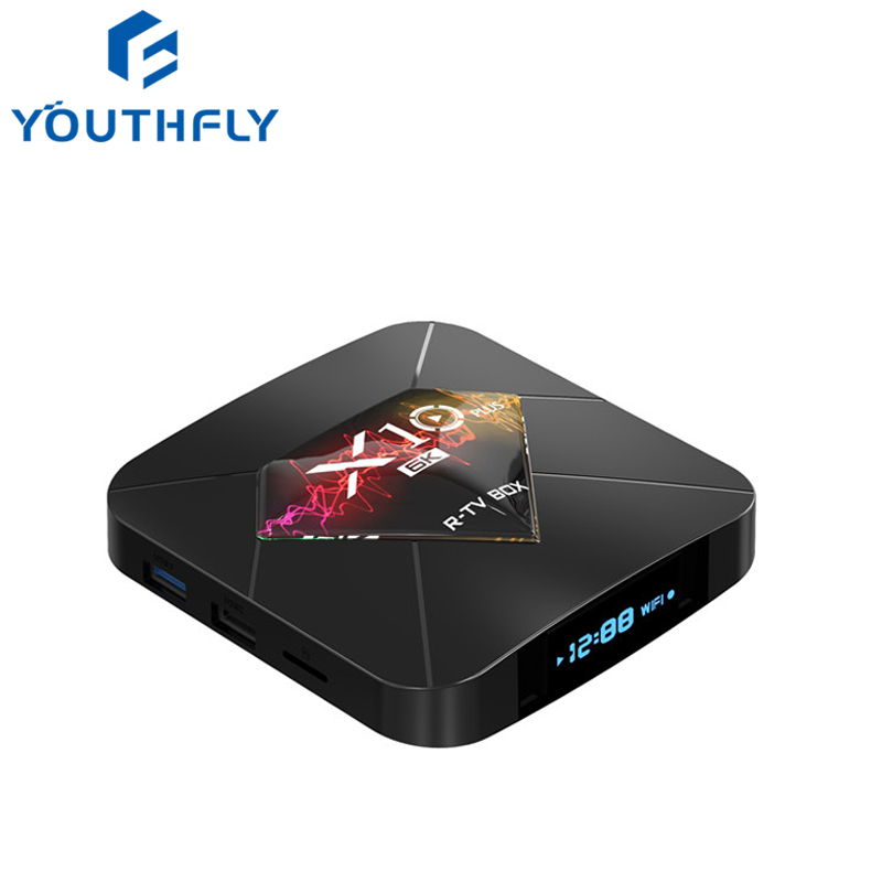 2019 New <strong>X10</strong> plus TV box 6k hd Allwinner h6 4GB RAM 32GB 64GB ROM Android 9.0 2.4G <strong>WIFI</strong> 6k Smart tv box
