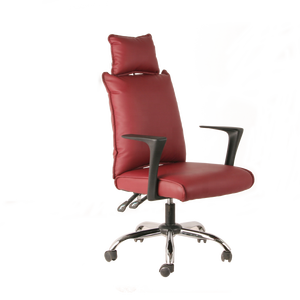 high back office meeting chairs with neck support