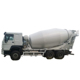 8m3 truck height portable concrete mixer truck