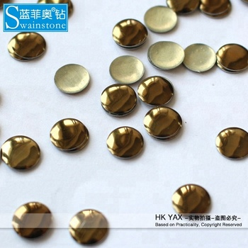 G0830 hotfix nailhead brown round shape 8mm 25gross 2mm 1000gross 3mm 500gross,iron on nailhead,nailheads transfer