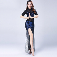 2019 New Spring And Summer Tight Sexy Suit Women's Beginners Performance Wear Sexy Belly Dance Costumes For Women
