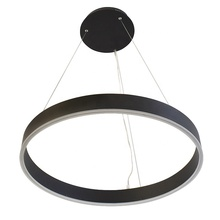 L4u Ready to Ship In Stock ETL cETL USA Canada 600mm Modern Simplicity Aluminum Acrylic LED Ring Pendant Lamp Hanging Lighting