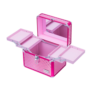 Hand-Take makeup vintage suitcase Beauty Case Vanity box