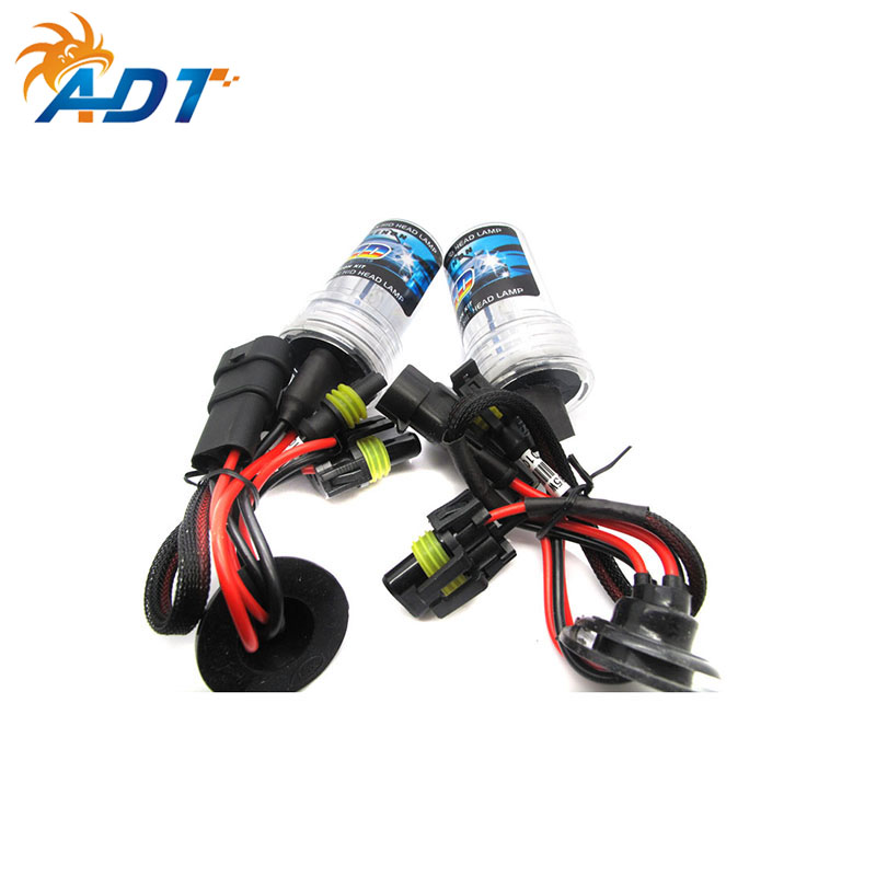 AutoDragons 12V 35W/55w Hid bulb H1 H3 9004 9007 880 H16 <strong>5000K</strong> 5500K 6000K Super Bright HID Xenon Bulb 9005 9006