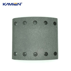 Wholesale truck bus trailer auto brake shoe lining material block 19032