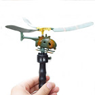 ZF302 2019 Novelty gifts handle pull wire aircraft power helicopter flying plane toys for kids