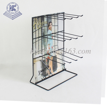 countertop wire display rack for battery