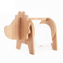 Animal-shape <strong>Paper</strong> &amp; tissuerack Natural Wood bamboo napkin holder