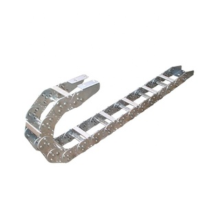 high quality  stainless  jflo JL steel cable drag chain