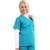 polyester cotton material maroon classic simple design clinic nurse uniform suits