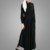 Newest Adult Custom Islamic Clothing Fashion Maxi Pearl Wide Leg Muslim Jumpsuit Soft Quality Polyester Dubai Abaya