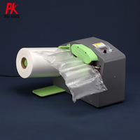 Custom Made Air Cushion Cags Air Plastic Bubble Film Roll with Air Pillow Maker Machine