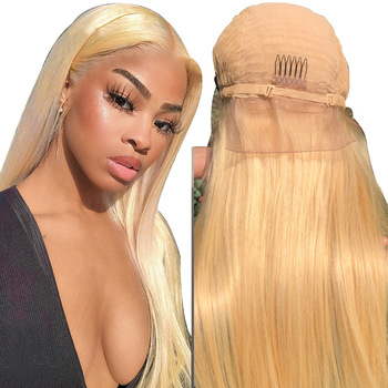 XBL large stock 613 full lace wig, Brazilian 613 blonde full lace human hair wig,40 inch 613 virgin hair human hair wigs