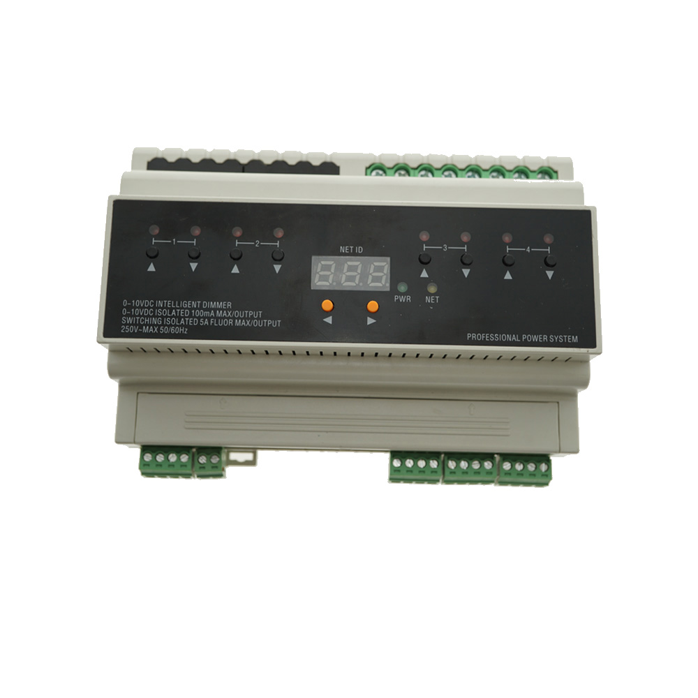 For Smart Home Lighting System 4 channels of <strong>0</strong> -10 Volt dimming control