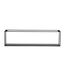Square metal floating <strong>shelf</strong> for wall storage