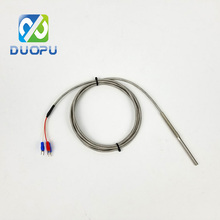 Sensor PT1000 RTD Temperature Water Sensors 4X60MM 2M Cable