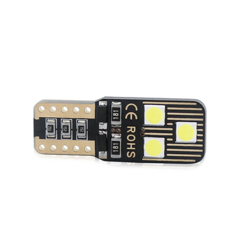 T10 W5W 192 168 501 3030 6SMD Canbus LED Bulb Car LED Width Lamp No Error 501 Indicator Instrument Light