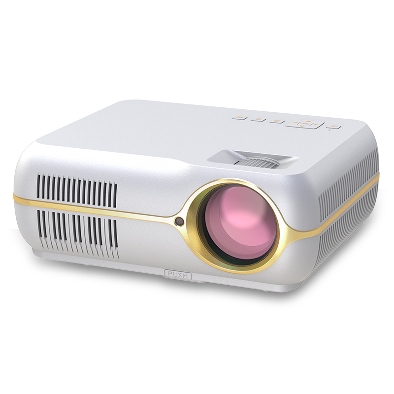 Hot sales Newest 800P 5.8inch portable led android projector pocket mini projector