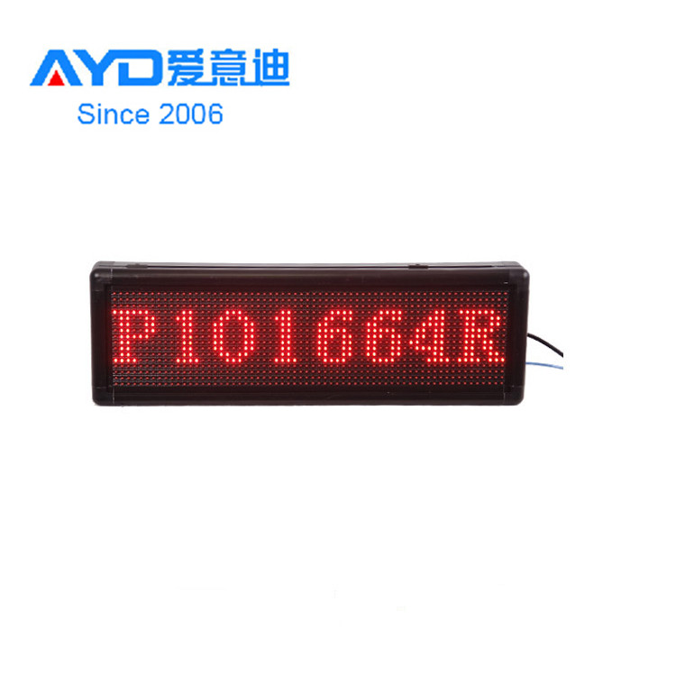 <strong>P10</strong> Mini LED Display Screen RGB Moving Message <strong>Sign</strong> with WIFI/3G/4G/USB Control, Amazon Hot Sale LED Screen