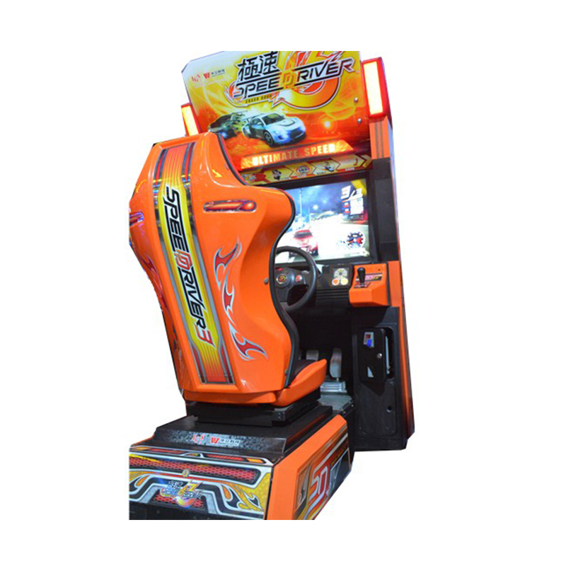 Yonee speed driver 3 car racing coin operated simulator video game machine