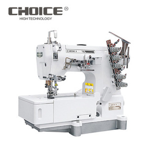 Golden Choice Good Price GC500-21BB flat-bed heavy duty for heavy sweater sewing industrial interlock sewing machine