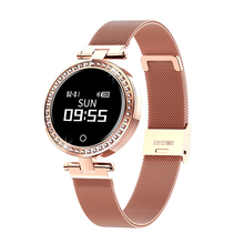 <strong>X10</strong> women rose gold new smart watch with ip68 waterproof heart rate blood pressure calling remind wristwatch
