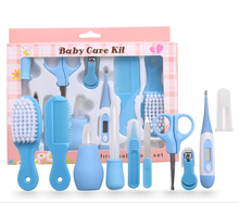 10pcs/set newborn file baby health grooming kit baby safety nail care set