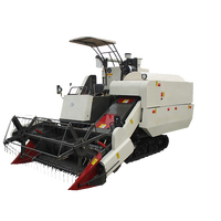 Hot sale small wheat rice combine cutter harvester