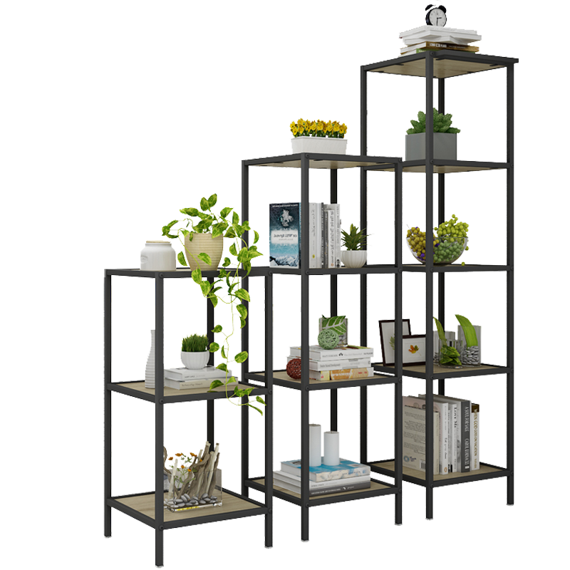 Free Sample Stainless Steel 5 Ladder Shelf Bookcase