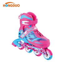 Adjustable semi soft inline skate for KIDS colorful roller skates