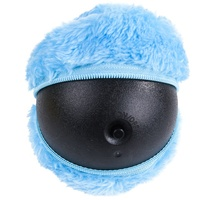 Wholesale New Design Electric Automatic Interactive Microfiber Hop Ball Plush Pet Dog Toy Ball