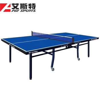 High-grade Indoor Double-folding Movable Table Tennis Table