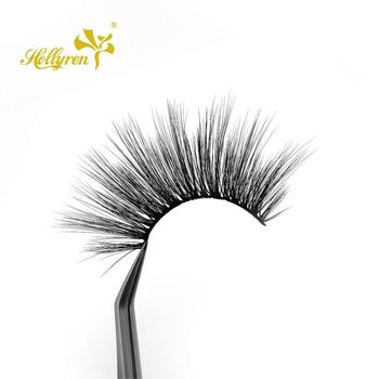Hollyren wholesale extra long 3d faux mink lashes with dramatick outlook
