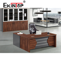 Ekintop modern office desk home office desk l shaped office desk