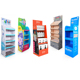 Custom Advertising Cardboard Shipper Display Shelf Rack,Cardboard POP Floor Display Stand