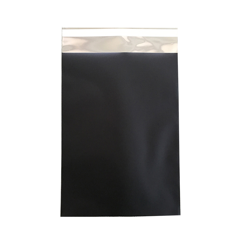 foil black <strong>poly</strong> mailers162x229mm C5 size, 6x9 inch, wholesale black envelopes