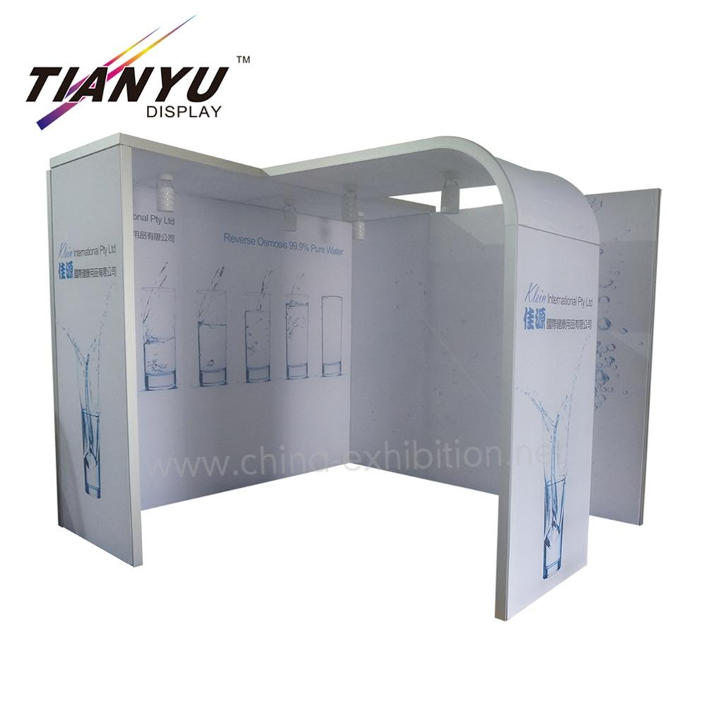 3x3 aluminum modular exhibition booth for <strong>show</strong>