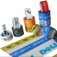 Factory Strong Self Adhesive Custom Logo Printed Bopp Packing Tape With Company Logo