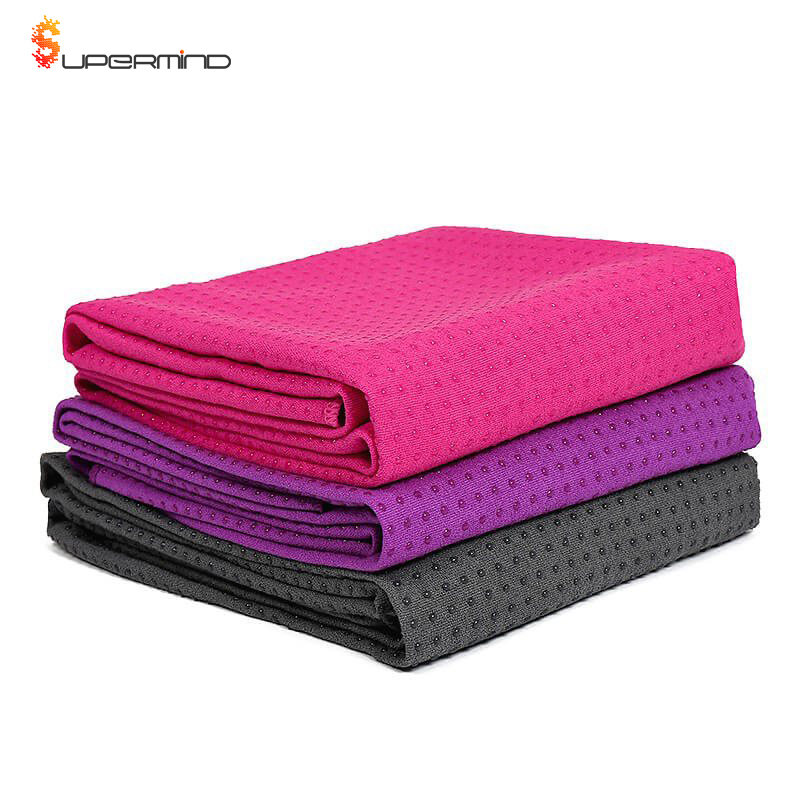 Ultra Soft Non-Slip Promotional Non-Slip Yoga <strong>Towel</strong> With Silicone Dots