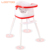 Wholesale cheap plastic 3 in 1 free foldable luxury restaurant baby high chairs