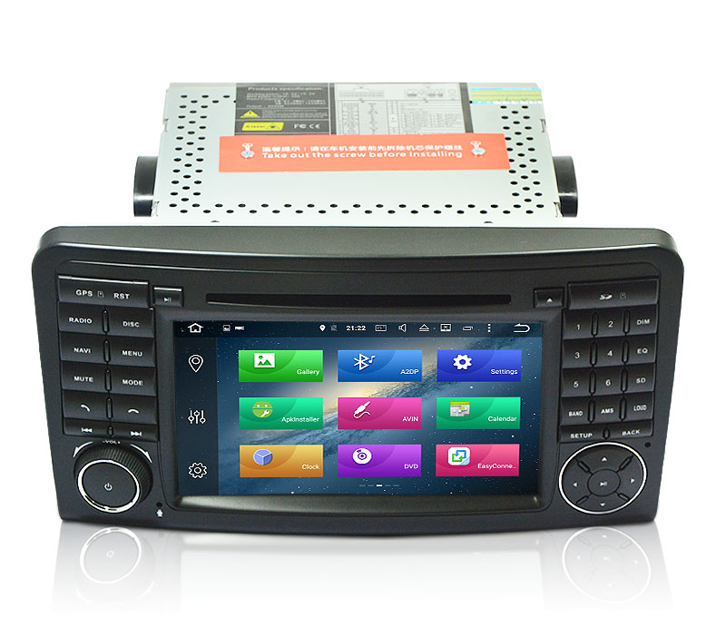 HD 1024X600 Android 9.0 Car <strong>DVD</strong> Player For Mercedes-Benz GL ML Class <strong>W164</strong> ML300 ML320 ML350 ML450 ML500 eight Core Radio <strong>GPS</strong>