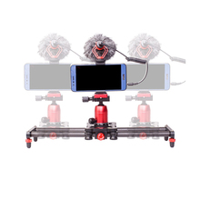 VGEET aluminum alloy camera rail slider for <strong>gopros</strong>