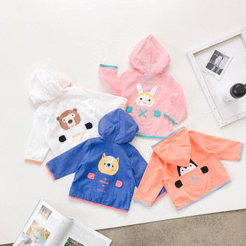 2019 Summer New Boy & Girls Coat Children Clothing Jackets & Outwear Baby Cartoon Stylish outfit Kids Coat
